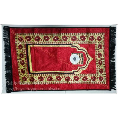 2019新款式祈祷毯 Muslim praying mat 祈祷垫 Folded Praying