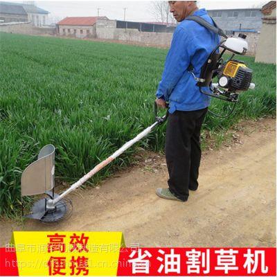 苗圃除草松土机 汽油斜挎式割灌机 便携式杂草割草机