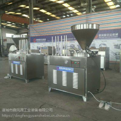 液压灌肠机厂家 诸城 香肠灌装机 香肠加工设备