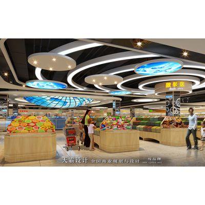 天霸设计理念前沿缔造武汉超市设计方案更具创意