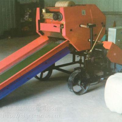 多功能青贮打捆包膜机 牧草青贮打捆包膜机厂家直销