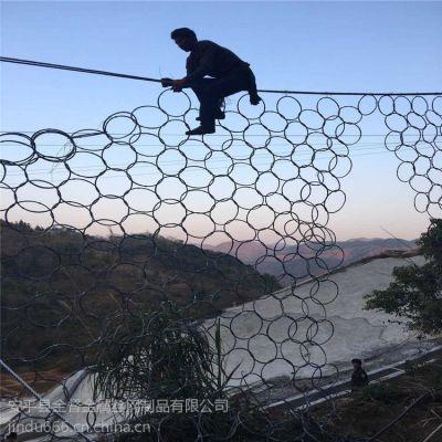 边坡绿化铁丝网 菱形勾花网 田径场包塑围网 包塑勾花网