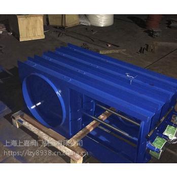 铸钢钢制法兰圆型闸门上海上嘉阀门生产制造