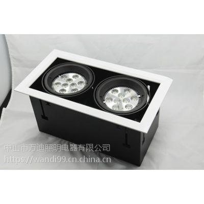 厂家直销LED豆胆灯 广顺销COB双嵌式豆胆灯