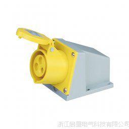 启星QX.113-4 系列明装插座 16A/3芯工业防水插座