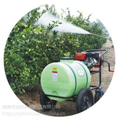 猪场养殖场高压喷雾器 果林喷雾打药机 省人力汽油动力打药车