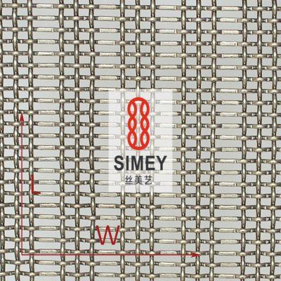 丝美艺XY-3162不锈钢编织网304 屏风装饰网 轧花编织钢丝网