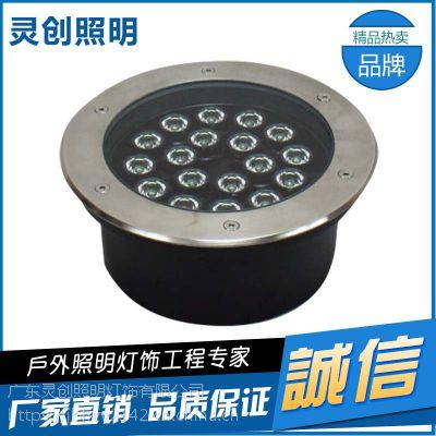 广西桂林DMX512 LED地埋灯完美防水专业技术终身维修-灵创照明