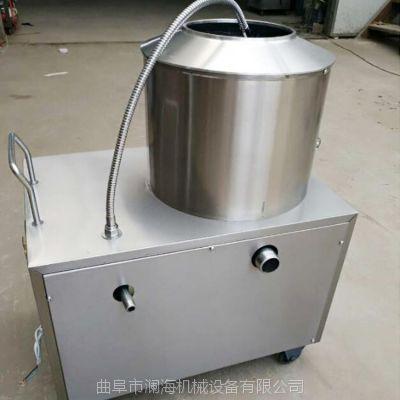 土豆去皮机 脱皮机不锈钢350内胆 质优价廉 澜海出品