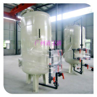 清又清增城市纺织行业废水A3碳钢过滤器 从化市立式污水拦截悬浮物碳钢过滤器