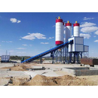 郑州毅成重工搅拌站厂家,HZS180大型混凝土搅拌站,厂家专供,质量保障