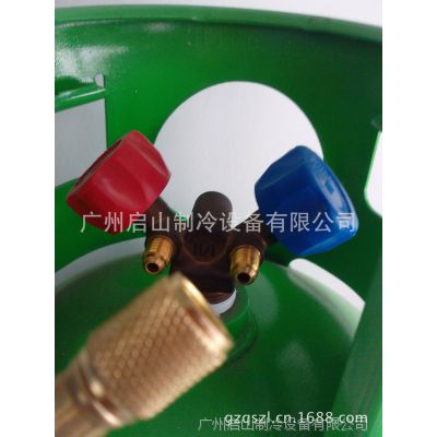 QISHANR启山14.3L制冷剂回收钢瓶 冷媒储液罐 R410专用钢瓶 启山制冷专供