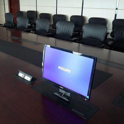 供应无纸化会议系统终端 唯立玛 15.6寸超薄液晶屏升降器