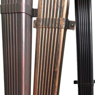 无锡铝合金方形雨水管弯头配件,徐州落水管,南京外墙排水管