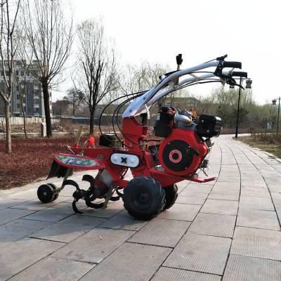 手拉电启多用途培土机 漂亮大方的自走式开沟机 土壤松土扶垄机