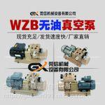 国产通达云望WZB25-P-V-01/03真空无油泵碳泵滑片泵喷码机制版机覆膜机天地盖裱纸机