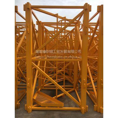 塔吊标准节定做加工-湖南博弥顺,匹配中联重科5610塔吊标准节特惠