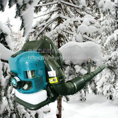 背负式二冲程吹风机 四冲程高转速汽油吹叶机 启航积雪清理机价格