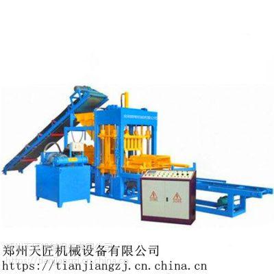 供应小型砖机 空心植草水泥砖机 液压 天匠机械