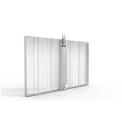 聚能湖北餐厅宴会厅超高清室内p3.75:6.66,玻璃电子显示屏效果图
