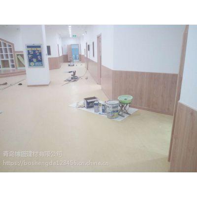地胶板的世界里,有一种材料,一个人也可以施工