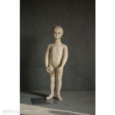 儿童模特道具 小孩服装展示模特 网拍道具 试衣假人玻璃钢全身站姿 厂家直销