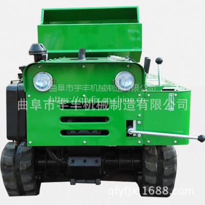 28马力耐用履带自走式果园开沟旋耕机自走式大棚开沟施肥机