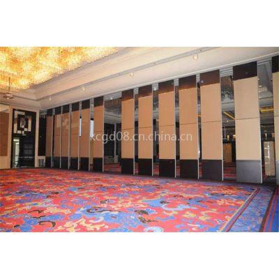 广州可成酒店65型可旋转隔板大厅多功能厅活动隔断墙 可折叠移动屏风隔板定制生产厂家