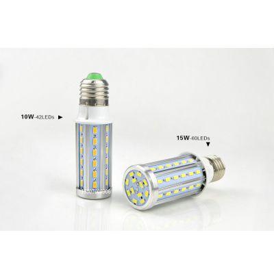 上海工程品质铝壳LED玉米灯 数控机床加工散热 10W高亮28珠玉米灯 led路灯