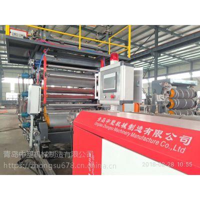 spc石塑地板设备生产线