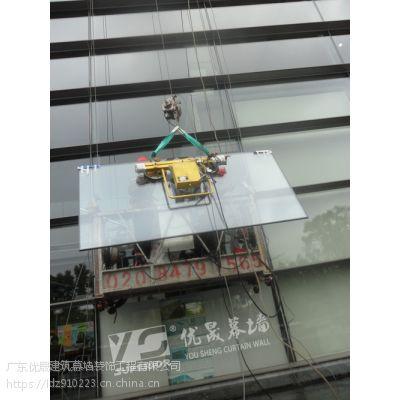 供应专业安装玻璃幕墙 彩色玻璃幕墙专业安装维修