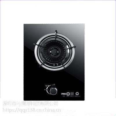 欧派单眼台式家用煤气灶 节能液化燃气灶 钢化玻璃猛火单灶嵌入式单炉
