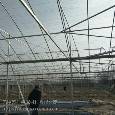9折优惠连栋温室大棚厂家直销 连栋大棚 热浸镀锌温室钢管