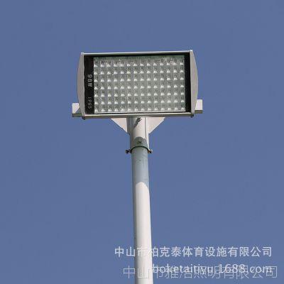8米镀锌灯柱厂贵州 户外一拖一篮球场灯杆批发 镀锌灯杆安装方法