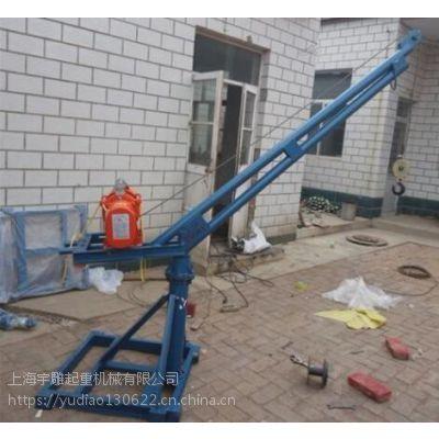 小提升架子多钱0.5吨吊机架子厂家