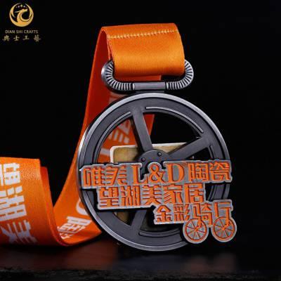 上海金属工艺品,合金奖牌定制,田径比赛奖牌