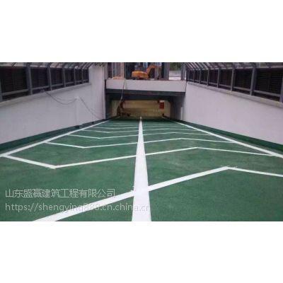 山东淄博潍坊临沂东营车位划线道路划线交通安全设施停车管理系统