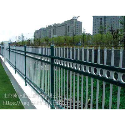 泰安Q235HC烤漆围墙护栏,仿竹节景观护栏全国供应,锌钢围墙栅栏安装方便