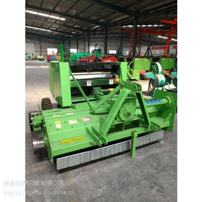 安徽玉米秸秆粉碎收割打捆机 玉米收割机自动打捆机厂家