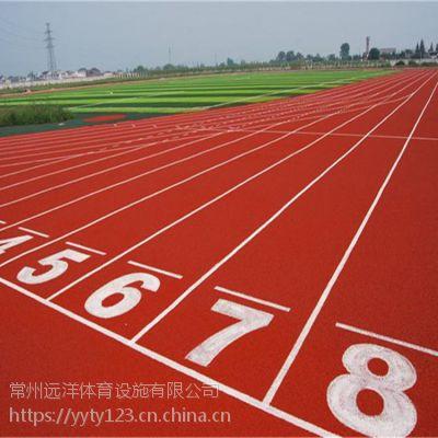 厂家供应塑胶跑道环保材料塑胶面层施工学校操场混合型跑道
