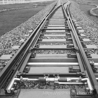 供应铁路混凝土枕92改进型50Kg/m钢轨单开道岔