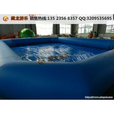充气泳池是什么布料做的耐用吗 大型戏水玩水水池定制大小 充气泳池工厂直销