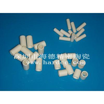 加工 氧化铝陶瓷套 氧化铝陶瓷套管 深圳海德
