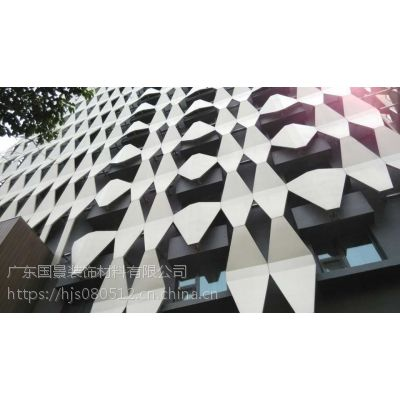 商场门头异型铝单板 外墙装饰氟碳铝单板