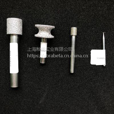 以色列进口金刚石钎焊异形打磨头 STRAUSS 真空吸热打磨工具
