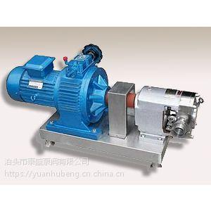 浙江泰盛制作的凸轮转子泵规格齐全
