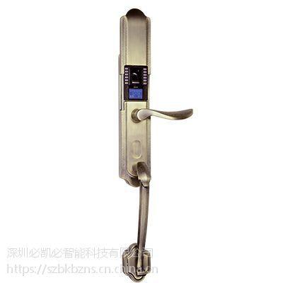 K-1187KF指纹密码锁(青古铜)-智能锁供应-深圳必凯必
