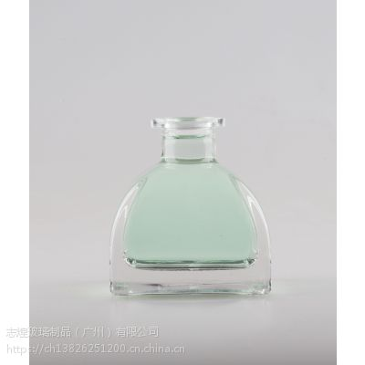 小号方形圆口干花精油玻璃瓶 无火香薰香薰瓶