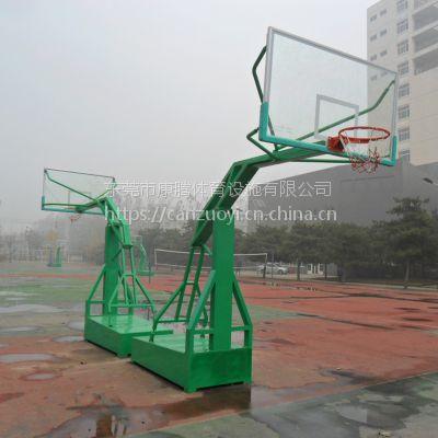 塘厦镇体育馆移动篮球架的康腾图片安装方法