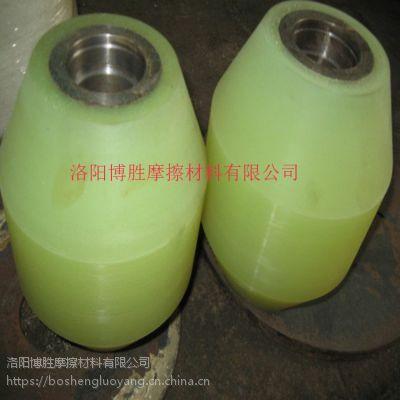 洛阳博胜厂家直销聚氨酯包胶轮,胶辊,各型号加工定制
